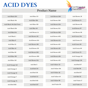 Dyes for Textile Industry