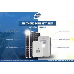 Hệ thống năng lượng mặt trời hòa lưới.