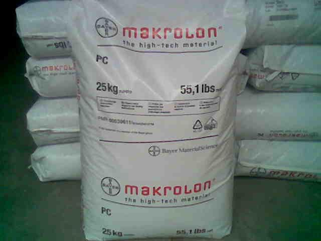 Hạt nhựa kỹ thuật PC (Makrolon, Bayer)